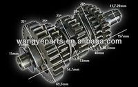 200cc250cc Main Counter Shaft/Atv Parts/Shineray Bashan Loncin Zongshen Lifan Jianshe Hsun