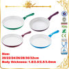 Popular Pressing Aluminum Ceramic Fry Pan With Many Color