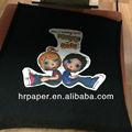A4/a3 tamaño oscuro t- shirt papel de transferencia el súper suave para la tela de algodón