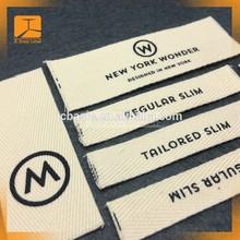 Good prices printed cotton label / custom printed cotton label