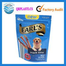 colorful printing aluminum foil zipper dog food packaging bag/pet food packaging bag/pet food plastic bag