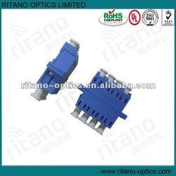 SM 4 core LC fiber optic adapter