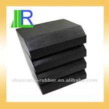 molded Hard Rubber block
