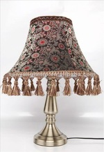 2012 Fabric table lamps india