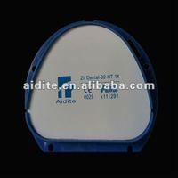 zirconia ceramic blanks for dental laboratory euipment