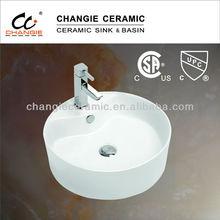 vessel sink,cupc & CSA approved porcelain sink,washbasin
