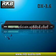 3 in+6 output Pro audio processor