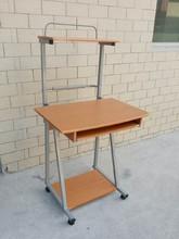 wholesale cheap unfolding wood computer desk/computer table