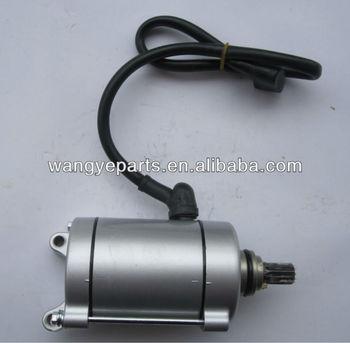 Atv Starter Motor With 9 Teeth For CG150 CG200 CG250 Air Cooled Engine/Dirt Bike Starter/Buggy Starter/Go Kart Starter