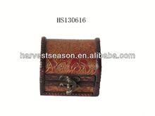 2015 mini leather jewellery case