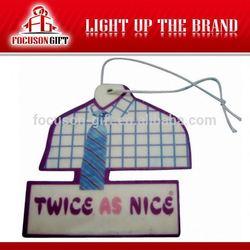 Promotion Item Cotton Paper Car Air Fresheners