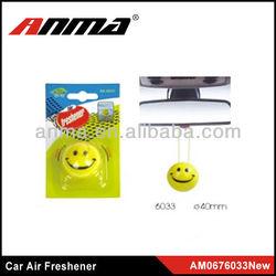 smiling face car air freshener,air freshener car japanese