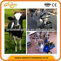 Portable small goat milking machine