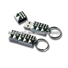 Hot sale christmas gift usb key chain wholesale