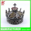 Home decorations metal crowns Beauty queen crowns trinket box(QF1175)