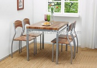 Metal Dining Table And Chair