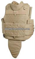 Kevlar Full Body Bulletproof Molle Vest With Gorin Protection/Full Body Bullet Proof Vest/ Full Body Armor