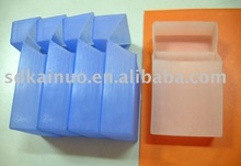 Foldable cases square shape silicone cigarette lid