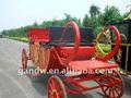 Kraliyet at arabası kırmızı atı arabaları Davlumbaz% ATI vagon
