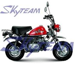SKYTEAM 125cc 4 stroke monkey motorcycle (EEC EUROIII EURO3 APPROVED)