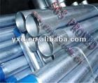 galvanized pipe properties