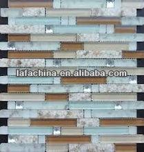 multicolor diamond glass mosaic for kitchen tiles backsplash