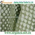 las ventas caliente burnout tela de organza para mantel de tela