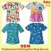 factory made comfortable nurse uniform scrubs design