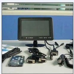 Small Size 7 Inch touch screen monitors with vga/av function (HTSU-7388)