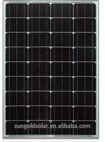 Wholesale 100w mono solar panel 12V for sale