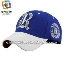 2014 fashion design embroidery sports baseball hat/ca[