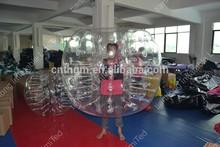2015 Hot selling custom clear soccer bumper ball for sale