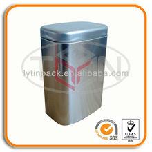 Custom Empty Rectangular Tea Tins