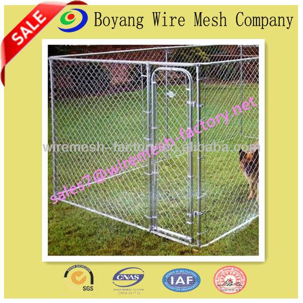 Lồng chó bằng thép không gỉ chất lượng cao có thể gập / chó chạy hàng rào lồng xinh đẹp