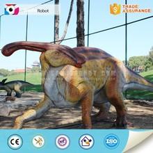 Robotic dinosaur for attraction dinosaur theme park
