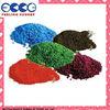 Colored epdm rubber granules for wet pour surfaces FL-G-V-159