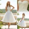 SA3485 Detachable bolero going wedding lace puffy sexy short wedding dress 2013