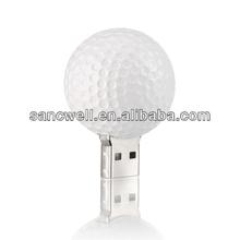 Custom Golf Ball Shaped USB Flash Drive