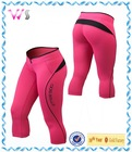 With your own design ladies fitness tights leggings capri yoga fashion pants