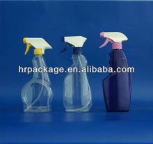 500ml PET Clear Plastic Spray Bottle