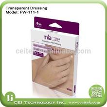 Transparent Dressing Adhesive wound dressing