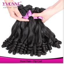 TOP grade virgin fumi hair 100% human hair weave