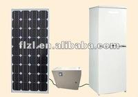 solar fridge 158L dc compressor Manufacturer supply solar powered energy deep Battery powered freezer solar 12V dc chest freezer