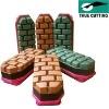 Ceramic fickert diamond polishing blocks