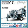 Steel Wire Rope Hydraulic tensioner Max intermittent tension:40KN