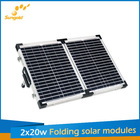 photovoltaic solar panels kit flexible folding 40w