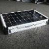 best price per watt 80w18V mono portable folding panel solar kits with connectors for camping,trekker