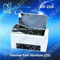 Nova nv-210 profesional esterilizador térmico, alta temperatura de esterilización, herramientas de manicura, médicos de la máquina ( aprobado por la ce )