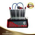 Injecteur de carburant tester& machine de nettoyage fit-101t 8 cylindre. sans une table