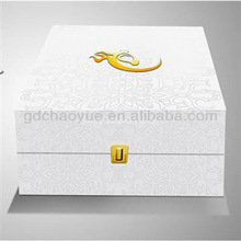 Company Logo Embossed Hot Stamping Brand Paper Box Printing